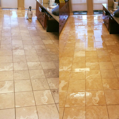 Natural stone cleaning, stain removal, polishing, and restoration. We clean granite, marble, quartz, travertine, slate, floors, walls, and counter tops.